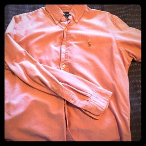 "Ralph Lauren Polo dress shirt ""custom fit"""